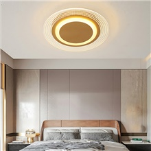 50 cm LED Ceiling Light Modern Round Design Flush Mount Lights Acrylic LED Nordic Style 110-120V 220-240V 110-120V,50cm