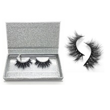 Natural False Eyelashes 3D Mink Lashes Volume Soft Lashes Long Eyelash Extension Fake Mink Eyelashes Cilios Maquiagem Animal Wool Eyelash 1,1 pc