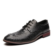 Men's Oxfords Business Casual British Daily Party & Evening Synthetics Handmade Non-slipping Wear Proof Black Burgundy Gold Fall Winter Black,US5.5-6 / EU37 / UK4.5-5 / CN37