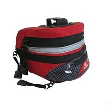 Bike Rack Bag Cycling Wearable Outdoor Bike Bag 600D Ripstop Bicycle Bag Cycle Bag All Phones Outdoor Exercise Red