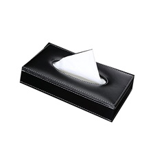 Bling Crystal car tissue Box Luxury PU Leather Auto Paper Box Holder Cover Case Tray for Home Office Automotive 2019,Black