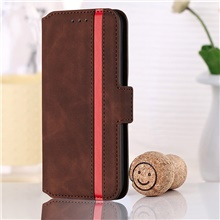 Retro Side Leather Case For iPhone 12 12mini 12Pro max iPhone 11 11Pro  11Pro max  iPhone X XS XR Shockproof / Magnetic Full Body Cases Animal PU Leather / TPU Case for iPhone XR XS IX Max iPhone 8plus 7plus iPhone SE (2020),Wine